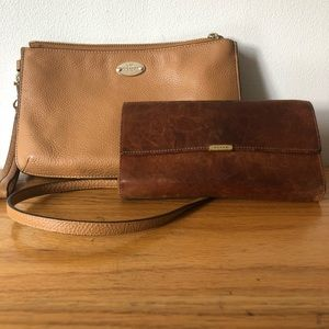 Coach Crossbody Bag with Free Coach Wallet